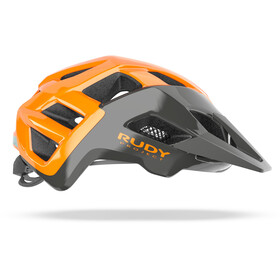 Rudy Project Crossway Helmet, lead/orange fluo shiny